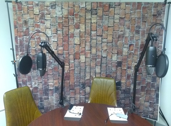 Coming Soon: Podcasting / Video Studio